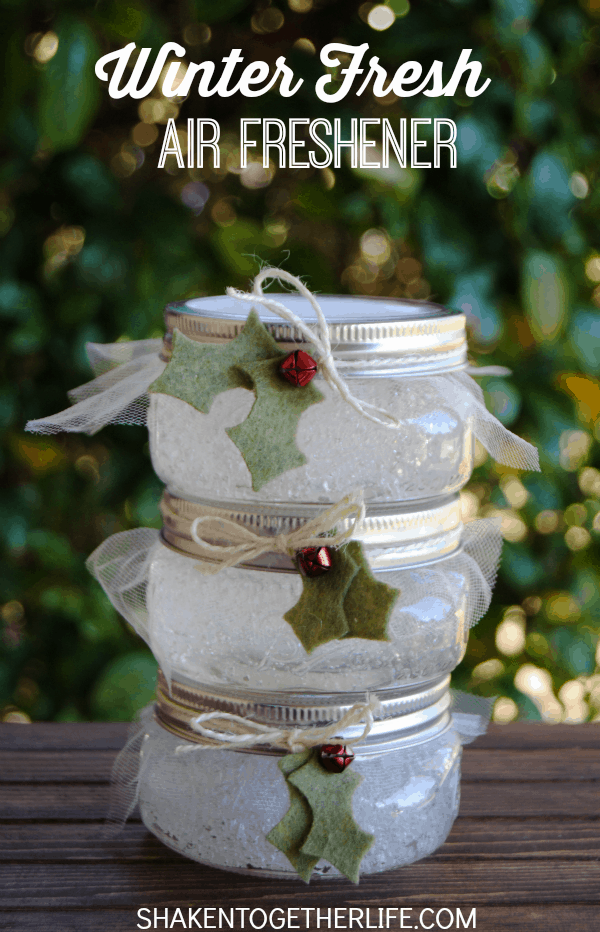 """<p>The secret to this cool, crisp-smelling air freshener is spearmint and rosemary essential oils. And aren't those stout little Mason jars adorbs?</p><p><strong>Get the tutorial at <a href=""""https://www.shakentogetherlife.com/winter-fresh-air-fresheners"""" rel=""""nofollow noopener"""" target=""""_blank"""" data-ylk=""""slk:Shaken Together"""" class=""""link rapid-noclick-resp"""">Shaken Together</a>.</strong></p><p><a class=""""link rapid-noclick-resp"""" href=""""https://www.amazon.com/essential-oils/s?k=essential+oils&tag=syn-yahoo-20&ascsubtag=%5Bartid%7C10050.g.2132%5Bsrc%7Cyahoo-us"""" rel=""""nofollow noopener"""" target=""""_blank"""" data-ylk=""""slk:SHOP ESSENTIAL OILS"""">SHOP ESSENTIAL OILS</a><br></p>"""