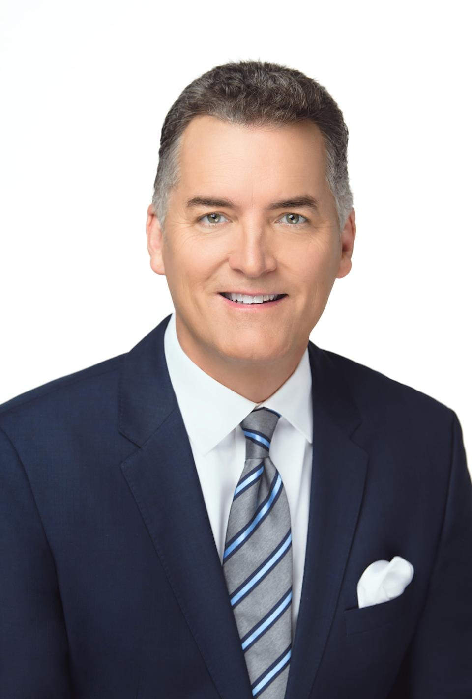 """Longtime WGN news anchor Joe Donlon, who now anchors WGN America's """"NewsNation,"""" gets his own show, """"The Donlon Report,"""" on March 1."""