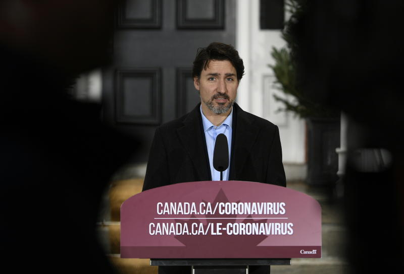 COVID-19 numbers improving, Trudeau says, but too soon to lift restrictions