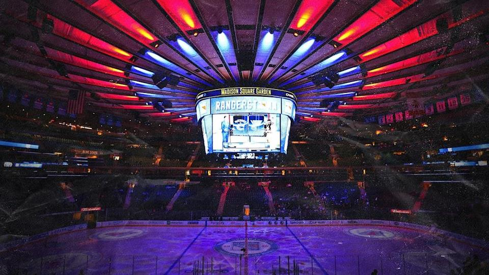 Rangers treated image generic inside MSG