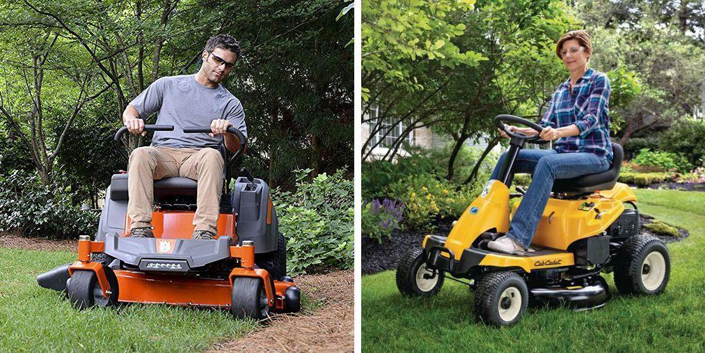 The 10 Best Riding Mowers to Shape up Your Lawn This Season