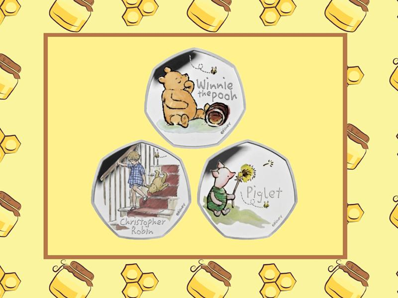 It's the first time the tales of Winne the Pooh and his friends are appearing on a limited edition coin run (iStock/The Royal Mint)