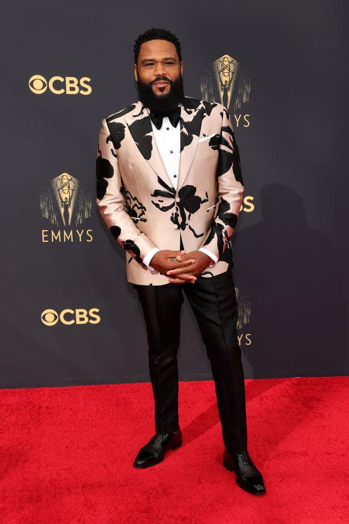 Anthony Anderson attends the 73rd Primetime Emmy Awards on Sept. 19 at L.A. LIVE in Los Angeles. (Photo: Rich Fury/Getty Images)