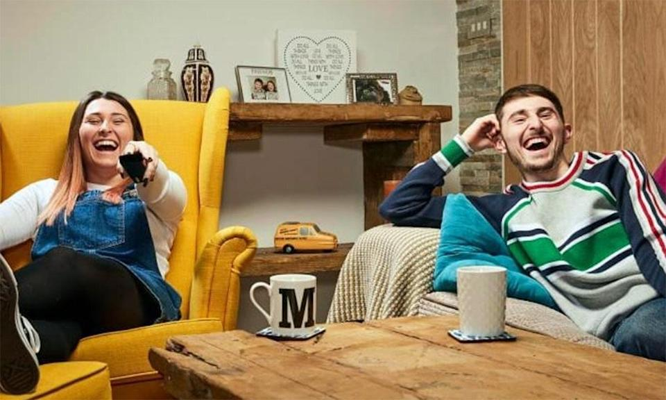 Sophie and Pete on Gogglebox (Photo: Channel 4)