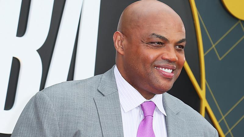 Charles Barkley, pictured, has apologised for an inappropriate joke he mate about hitting a female reporter.