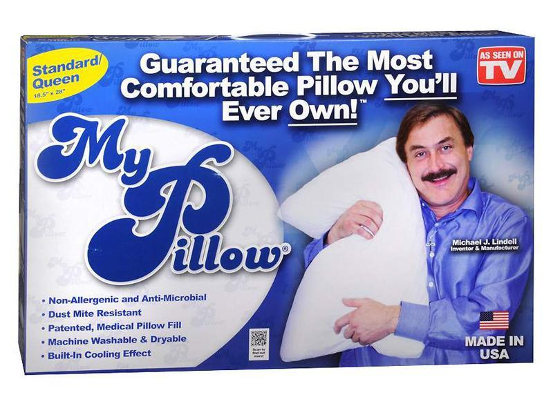 """<p>""""I love 'As Seen On TV' products, and drugstores always carry them. My Pillow is a good gift for anyone you forget on your list because it seems really thoughtful to give someone the gift of better sleep!"""" —<em>Lauren Kane, site producer</em></p><p>Buy it <a href=""""http://goto.target.com/c/249354/81938/2092?subId1=IS%2CHOL%2CGAL%2CInStyleEditorsSharetheBestGiftsYouCanBuyfromtheDrugstore%2Cacheng1271%2C201712%2CT&u=https%3A%2F%2Fwww.target.com%2Fp%2Fas-seen-on-tv-174-standard-queen-my-pillow-white%2F-%2FA-14221024%23lnk=sametab"""" rel=""""nofollow noopener"""" target=""""_blank"""" data-ylk=""""slk:here"""" class=""""link rapid-noclick-resp"""">here</a> for $50.</p>"""