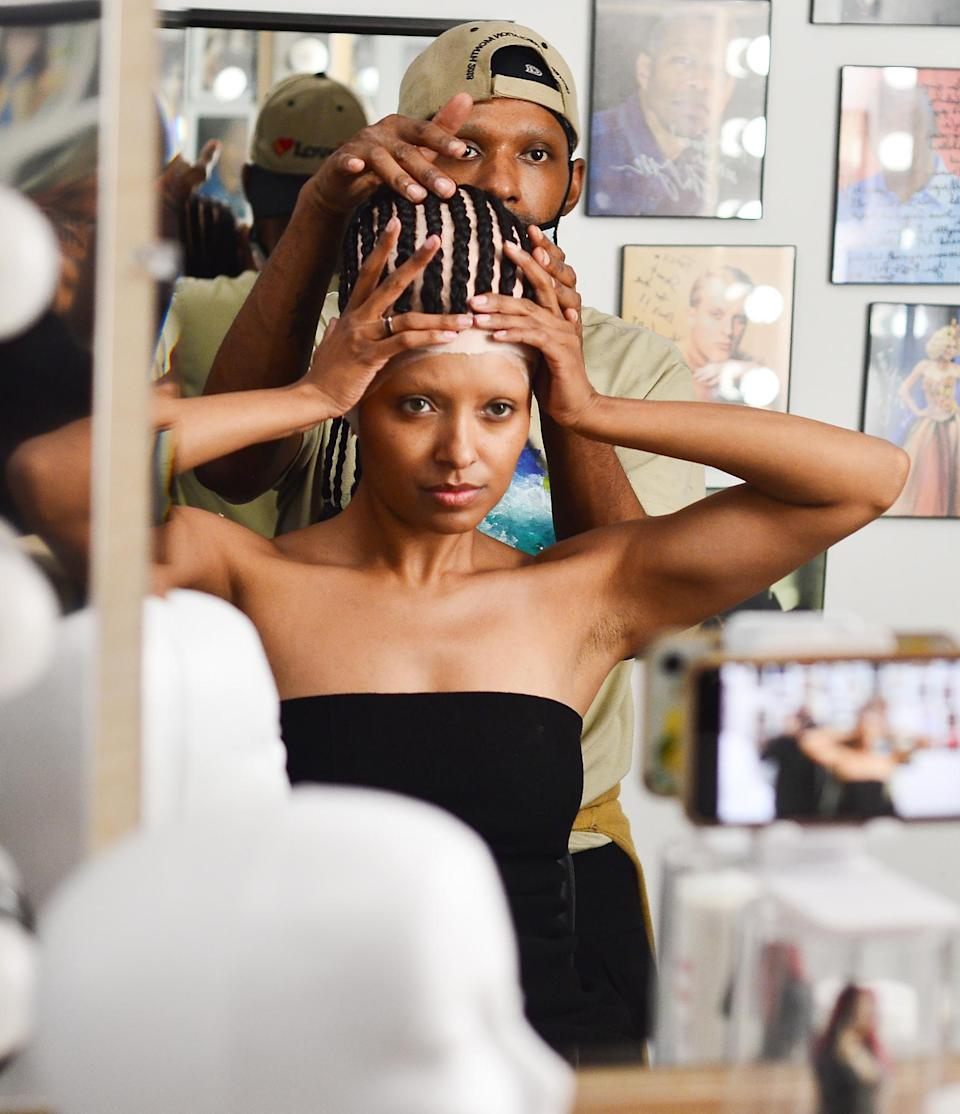 <p>Kat Graham debuts Galactica, her newest merchandise collection for fans, created by Alessio Filippelli with the message of inclusivity on July 22.</p>