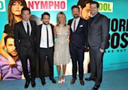 """<p>In 2011, Aniston was hired to star in the dark comedy <em><a href=""""https://www.imdb.com/title/tt1499658/"""" rel=""""nofollow noopener"""" target=""""_blank"""" data-ylk=""""slk:Horrible Bosses"""" class=""""link rapid-noclick-resp"""">Horrible Bosses</a> </em>along with Jason Bateman, Jason Sudeikis, and Charlie Day. The movie was a hit and led to a follow-up film in 2014.</p>"""