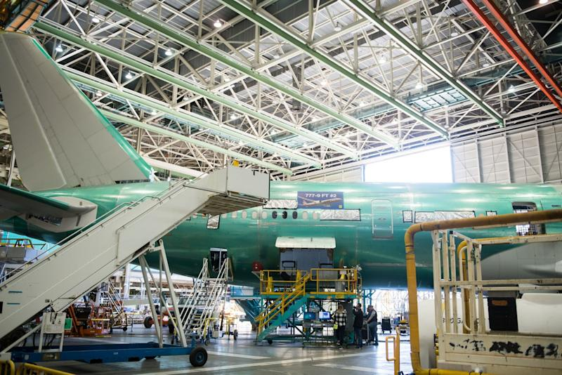 Boeing, Suppliers Near $60 Billion From U.S. Aid Package