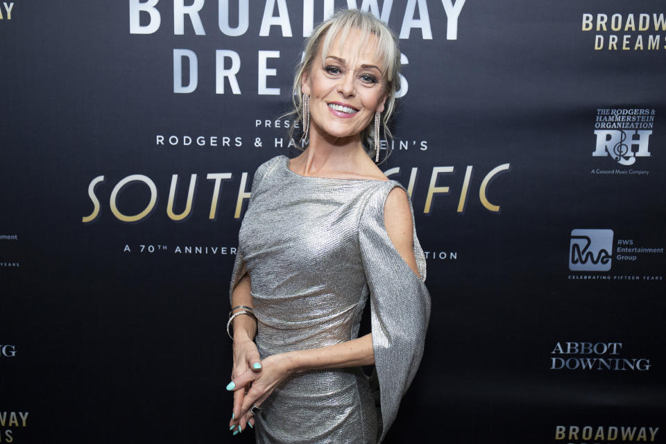 NEW YORK, NEW YORK - DECEMBER 10: Tracie Bennett attends the