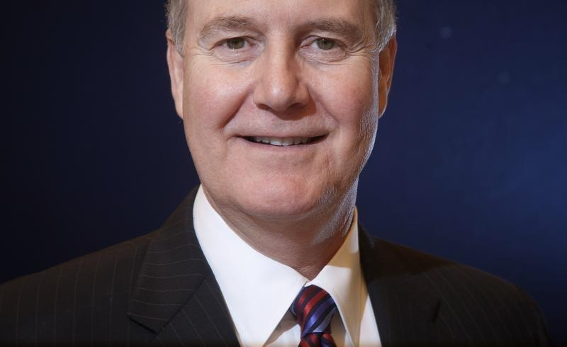President of Southwest Airlines Gary Kelly poses for a portrait in New York
