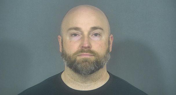 PHOTO: Former South Bend Police Department Sgt. Ryan O'Neill charged with soliciting a sex from a woman while on duty. (St. Joseph County Jail)