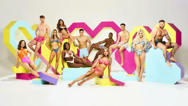 Hugo with the rest of this year's Love Island cast (Photo: ITV/Shutterstock)