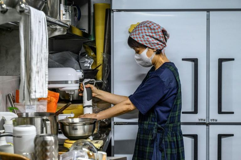 Asia Pacific, home to 4.3 billion people, already accounts for some 60 percent of the international market for ghost kitchens (AFP/Anthony WALLACE)