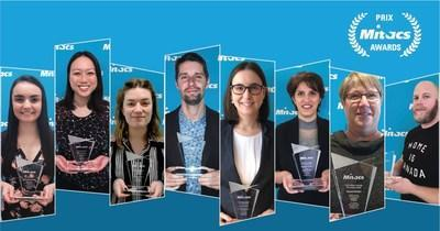 Up-and-coming Canadians recognized for breakthroughs in medicine, computing, environment, COVID-19 protection, and more (CNW Group/Mitacs Inc.)