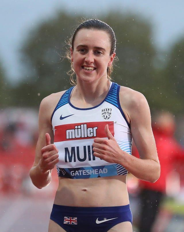 Laura Muir starts her quest for an Olympic medal in the women's 1500m heats