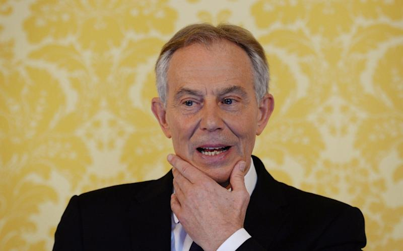 Tony Blair, the former Labour Prime Minister - PA