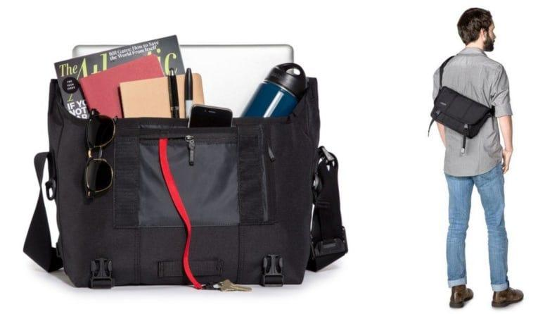 This messenger bag is ideal for commuting to work.