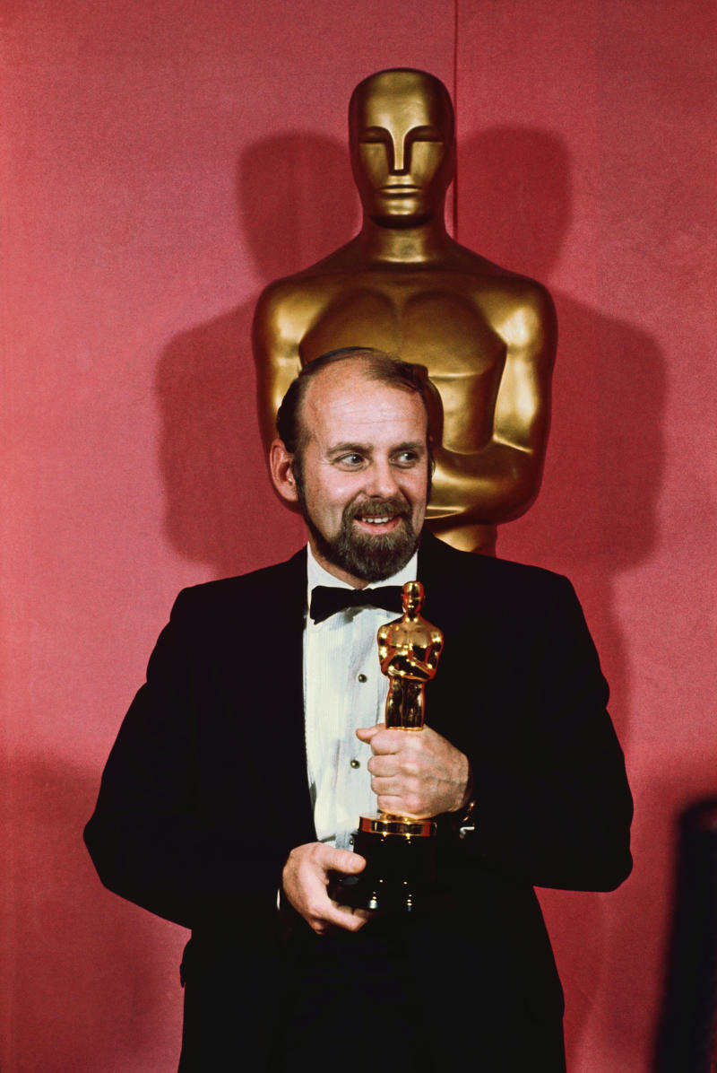 O diretor Bob Fosse no Oscar de 1972 (Foto: Getty Images)