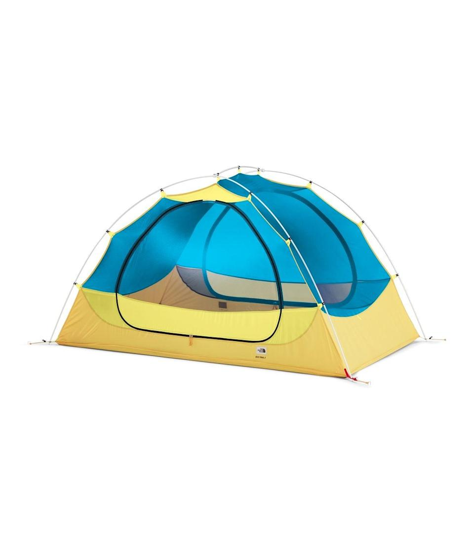 <p>This bright, vibrant <span>The North Face Eco Trail 2P</span> ($174, originally $249) can fit two people.</p>