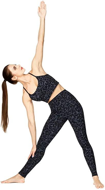 These leggings are made of 75 per cent polyester and 25 per cent spandex. (Image via Amazon)