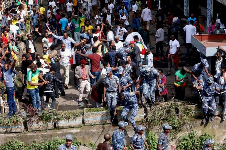 FBI investigators will help Ethiopia probe a deadly grenade attack that left two people dead at a massive rally for Ethiopia's newly-installed prime minister in the capital