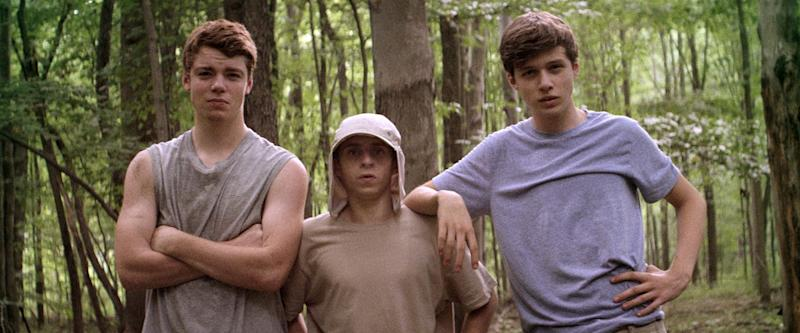 The lead trio in 'The Kings of Summer'. (Credit: Low Spark Films)