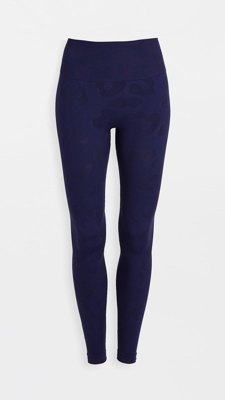 <p>These <span>Phat Buddha Honestly Kate Gracie Leopard Leggings</span> ($100) will stay put, no matter how you want to twist and turn.</p>