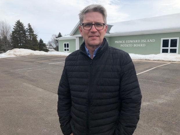 Greg Donald, general manager of the P.E.I. Potato Board, says decisions about holding ponds need to be based on facts and evidence, not fear-mongering.  (Wayne Thibodeau/CBC - image credit)