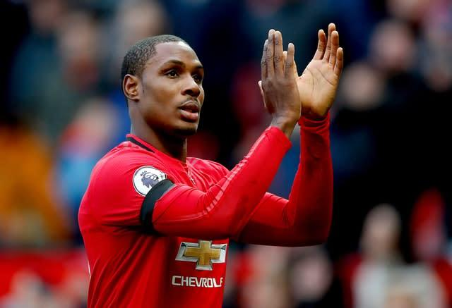 Odion Ighalo has quickly ingratiated himself to the Manchester United fanbase (Martin Rickett/PA)