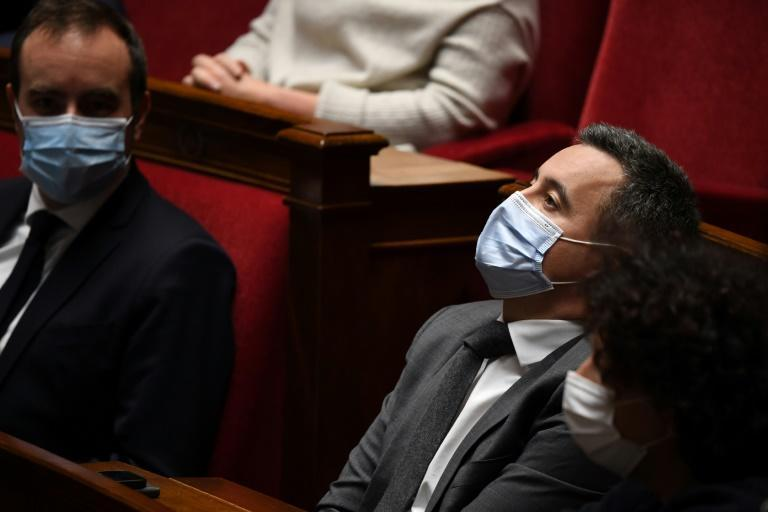 Interior Minister Gerald Darmanin received criticism for pushing a bill that would make it harder to document police brutality