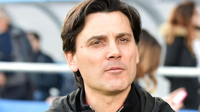 Ahead of Saturday's Serie A game against Palermo, AC Milan coach Vincenzo Montella said he hopes to keep his job amid an impending takeover.