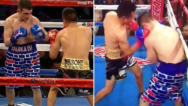 Salka's shorts did not go down well. Image: Twitter