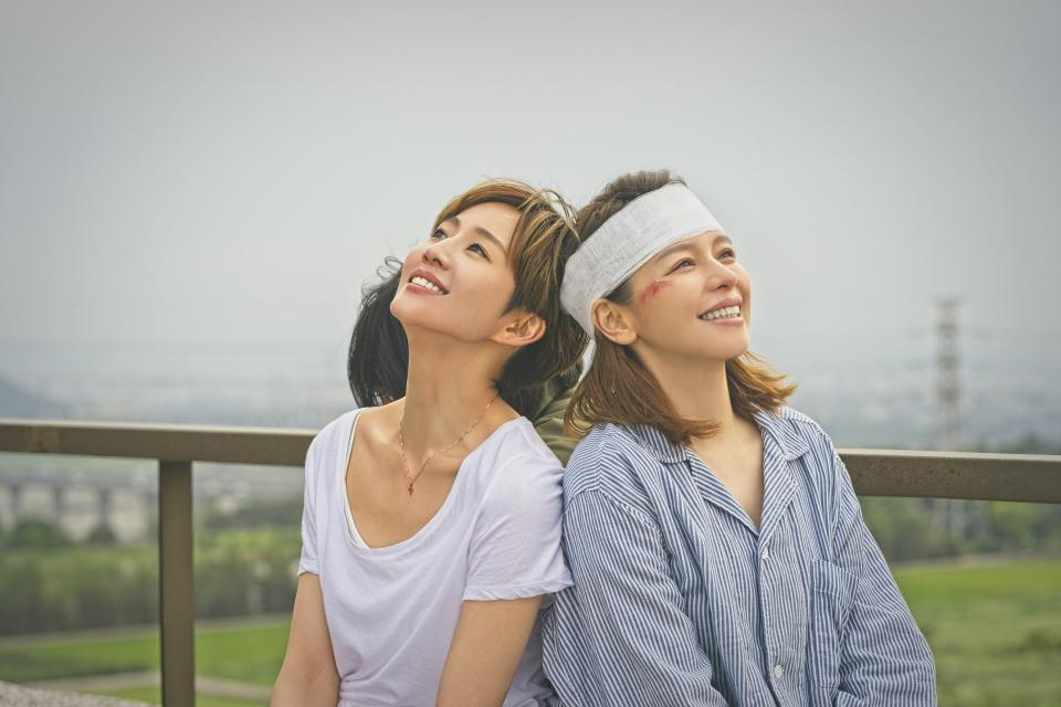 Janine Chang (left) and Vivian Hsu in director Peter Ho's Who's By Your Side. (Photo: HBO Go)