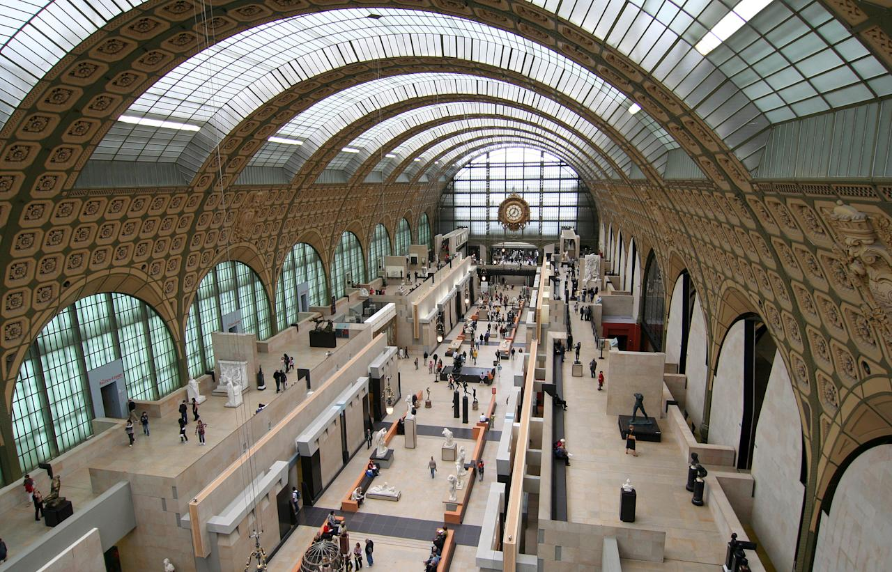 Housed in the former Parisian train station Gare d'Orsay, the Musée d'Orsay is dedicated to painting, sculpture, architecture, photography and decorative arts. It is renowned for maintaining the largest collection of Impressionist artwork in the world. Here you will find Auguste Clesinger's sculpture Woman Bitten By A Snake as well as works by masters including Eugène Delacroix, Édouard Manet, Paul Gauguin, Paul Cezanne, Claude Monet, Pierre-Auguste Renoir, Alfred Sisley and Vincent Van Gogh.