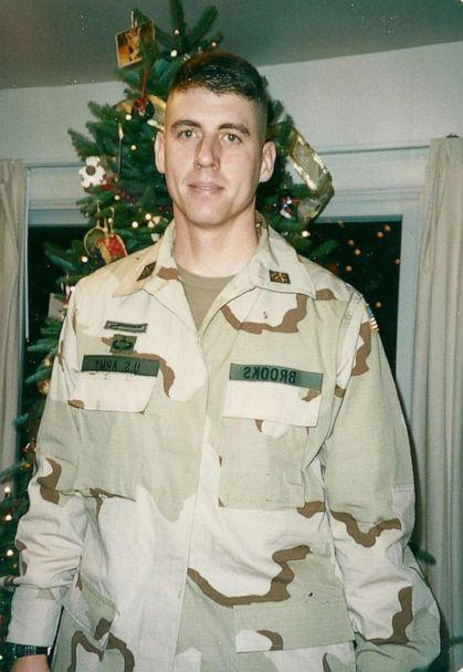 PHOTO: Former Lt. Col. Timothy Brooks deployed from Fort Drum, N.Y., to Karshi-Khanabad, or K2, in late November 2001. (Courtesy Kim Brooks)