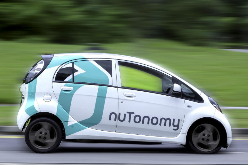 Nutonomy to test self-driving cars on select streets in Boston this year