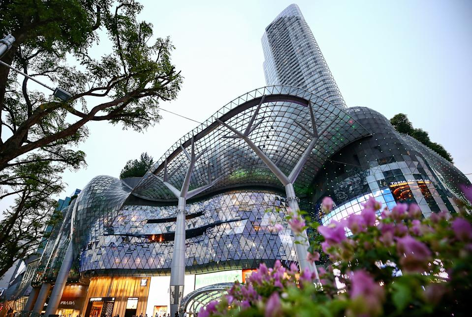 SINGAPORE, SINGAPORE - AUGUST 1, 2018: A view of the ION Orchard shopping mall. Valery Sharifulin/TASS (Photo by Valery Sharifulin\TASS via Getty Images)