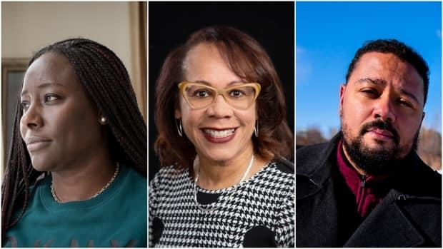 Since the Black Lives Matter demonstrations last year and amid the ongoing pandemic, parentsand educators have a renewed fervour in working to combat anti-Black racism in the Canadian education system. Among them are education system navigator and parent Charline Grant, left, school principal Karen Hudson and teacher D. Tyler Robinson