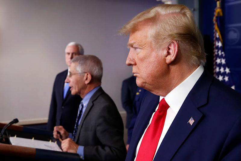 President Donald Trump says he already listens to military advisers and has the supply situation under control. (Photo: ASSOCIATED PRESS)