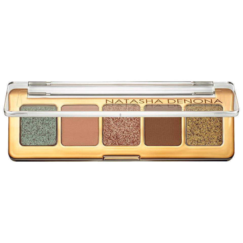 <p>The color payoff of this <span>Natasha Denona Mini Star Eyeshadow Palette</span> ($25) is insane.</p>