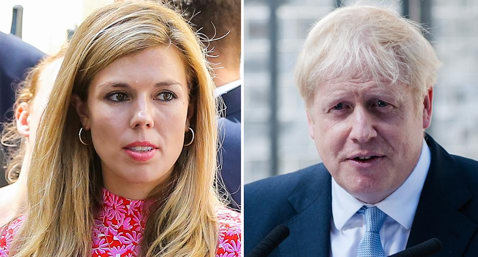 Carrie Symonds (left) is the girlfriend of UK Prime Minster Boris Johnson. [Photo: Getty]