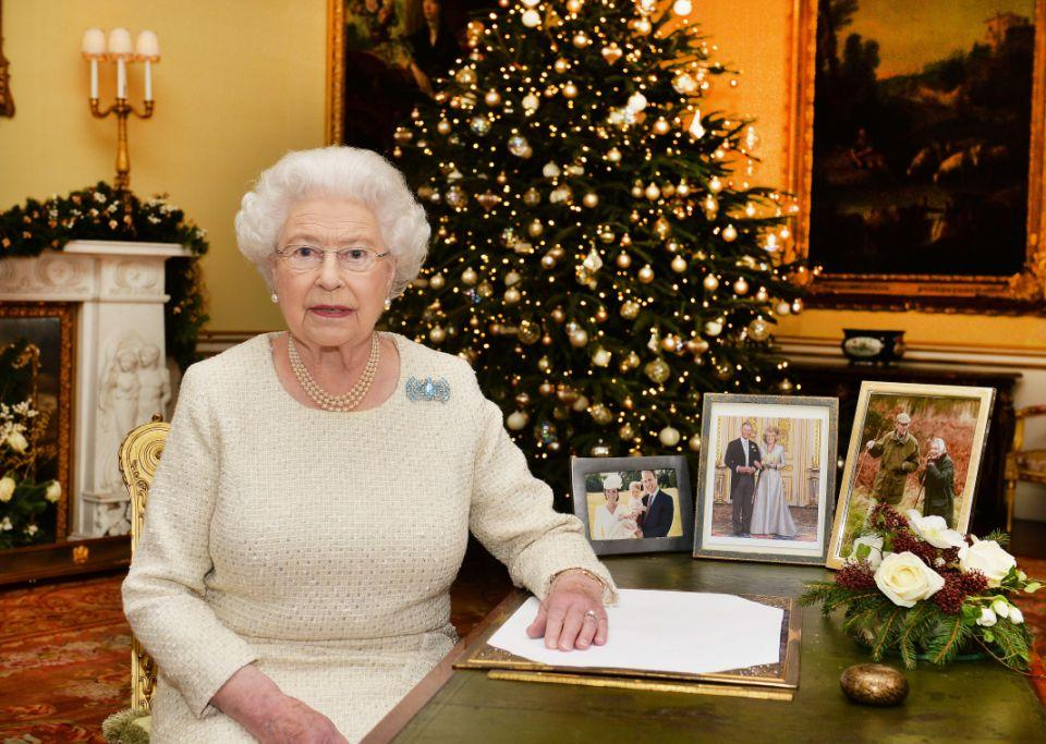The Queen gives her staff a pudding every Christmas. Photo: Getty