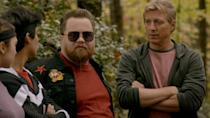 "<p>Stingray is the funniest character in Season 2 of <em>Cobra Kai, </em>which makes sense, considering <a href=""https://www.menshealth.com/entertainment/a33969769/cobra-kai-stingray-paul-walter-hauser/"" rel=""nofollow noopener"" target=""_blank"" data-ylk=""slk:Paul Walter Hauser"" class=""link rapid-noclick-resp"">Paul Walter Hauser</a> is one of the hottest upcoming stars in movies and television right now. Last year he played the titular character in <em>Richard Jewell, </em>and earlier this year he appeared in his second <a href=""https://www.menshealth.com/entertainment/g32814906/spike-lee-movies-shows-documentaries-list/"" rel=""nofollow noopener"" target=""_blank"" data-ylk=""slk:Spike Lee"" class=""link rapid-noclick-resp"">Spike Lee</a> movie, <em><a href=""https://www.menshealth.com/entertainment/a32841550/da-5-bloods-spike-lee-true-story/"" rel=""nofollow noopener"" target=""_blank"" data-ylk=""slk:Da 5 Bloods"" class=""link rapid-noclick-resp"">Da 5 Bloods</a> </em>(his first was 2018's <em>BlackKlansman). </em>He also played a memorable (and very funny) role in <em>I, Tonya, </em>and the Audience Network series <em>Kingdom. </em></p>"