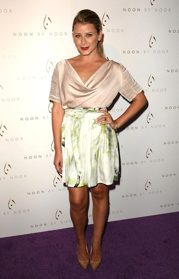 "Former ""The Hills"" star Lauren ""Lo"" Bosworth chose pretty pastels for the fete. ""Most beautiful group of women I've ever seen at the @NoonByNoor party in LA tonite. Congratulations on the collection!,"" she tweeted. Jason LaVeris/<a href=""http://www.filmmagic.com/"" target=""new"">FilmMagic.com</a> - July 20, 2011"
