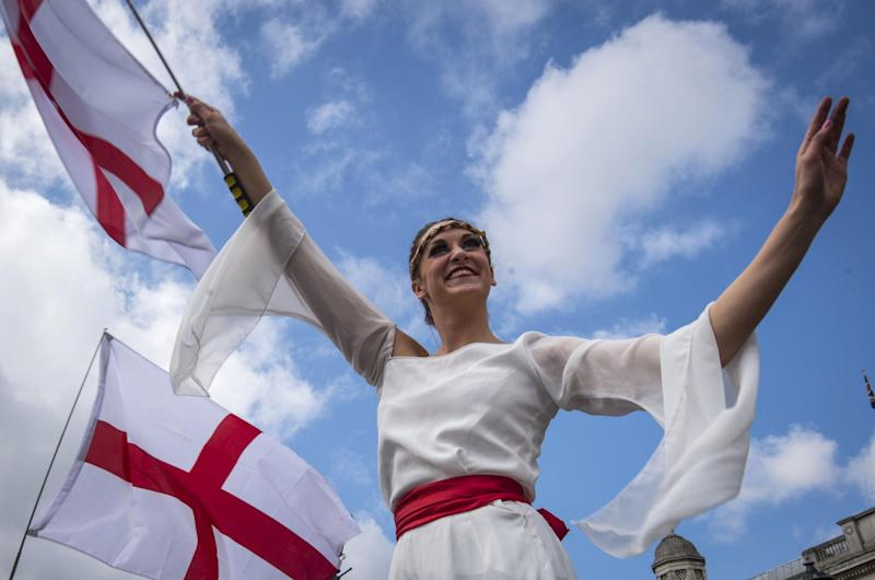 St George's Day is on April 23 (PA Archive/PA Images)