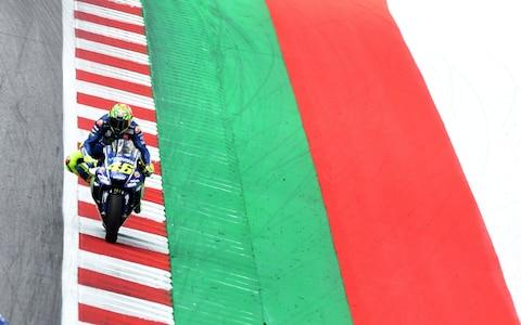 Rossi - Credit: CHRISTIAN BRUNA /EPA