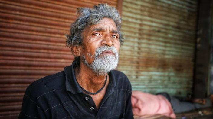 Ali Hasan has no money to buy food after the shop he worked in closed