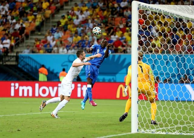 Mario Balotelli scored Italy's winner at the 2014 World Cup (Nick Potts/PA)
