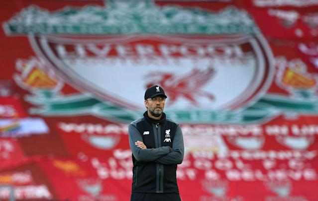Jürgen Klopp, Manager von Liverpool (Photo by Shaun Botterill/Getty Images)